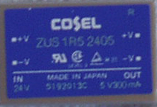 COSEL Japan DC-DC Converter Module ZUS 1R5 2405