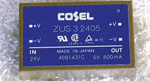COSEL Japan DC-DC Converter Module ZUS 3W 5V @ 600mA
