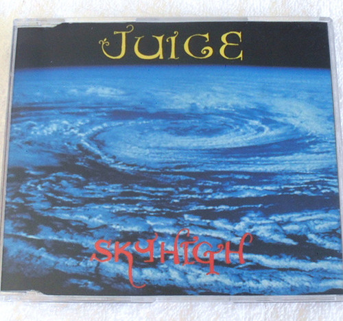 Australian Funky Hard Rock - JUICE Skyhigh CD Single 1994