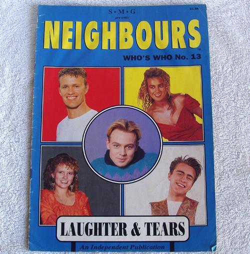 Television Memorabilia - NEIGHBOURS TV Magazine Who's Who No.13 1990