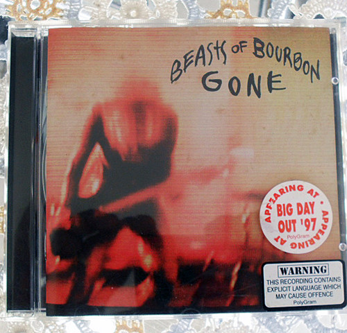 Alternative Rock - Beasts Of Bourbon Gone CD 1997