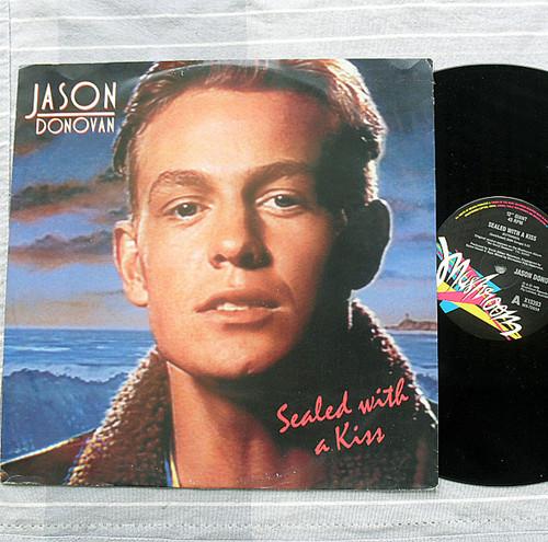 """Pop -  Jason Donovan Sealed With A Kiss Vinyl 12"""" 1989"""