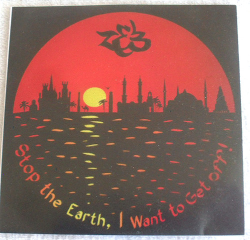 Folk Downtempo - ZEB Stop The Earth I Want To Get Off Promo CD 2007