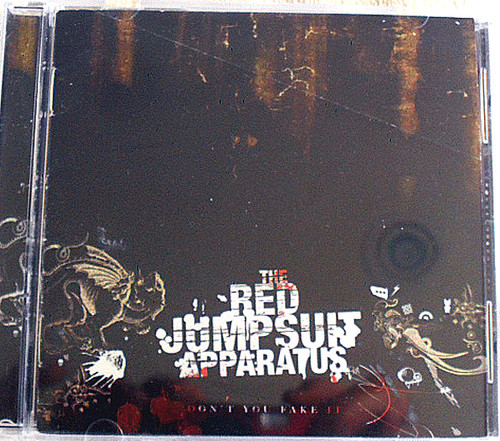 Emo Rock - Red Jumpsuit Apparatus Dont You Fake It CD 2006