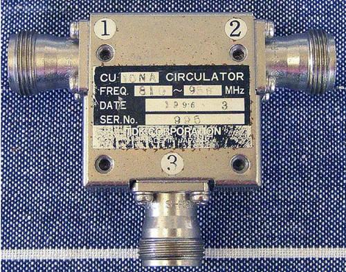 TDK 800Mhz RF Circulator 3 Port 100W