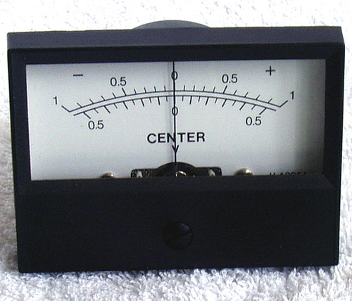 1970's Japanese Centre Zero 100uA Moving Coil Meter