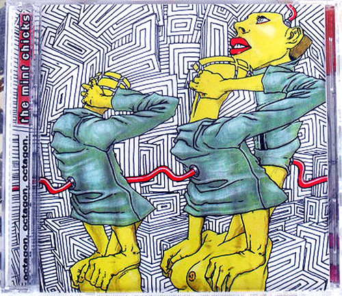NZ Art Punk - THE MINT CHICKS  Octagon Octagon Octagon CD 2003