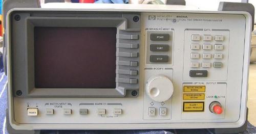 HEWLETT PACKARD Optical Time Domain Reflectometer (OTDR) 8145A