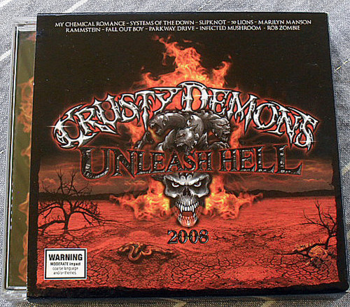 Rock - Crusty Demons Unleashed Hell Compilation 2x CD 2008