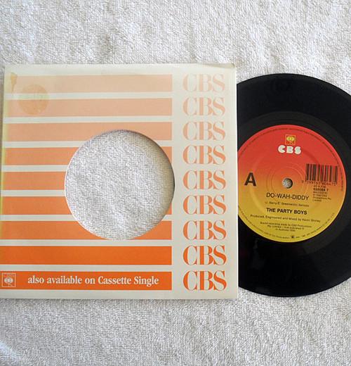 "Australian Rock - The Party Boys Do Wah Diddy 7"" Vinyl 1990"