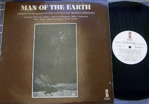 Australian Folk - Man Of The Earth Mining Songs/Ballads Vinyl 1974