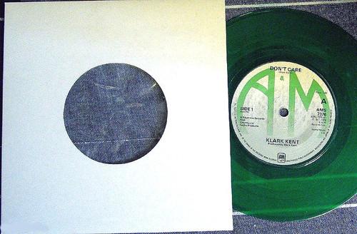 "Pop -  KLARK KENT (The Police) Don't Care 7"" Vinyl 1981"