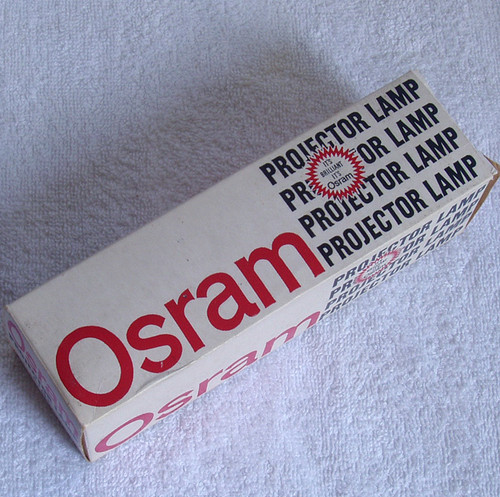 Vintage OSRAM A1/53 750 Watt Projector Lamp Unused Old Stock