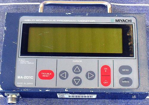 Industrial Welding Schedule Programmer & Monitor MIYACHI MA-201C