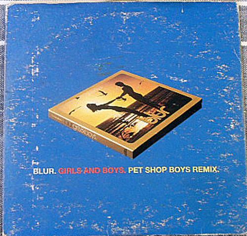 Alternative Rock - Blur Girls And Boys Remix CD EP 1994