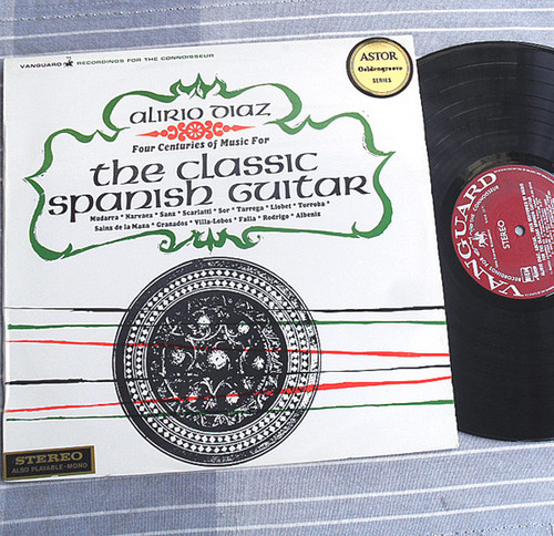 Alirio Diaz  Four Centuries Of Music For The Classic Spanish Guitar Vinyl 1965