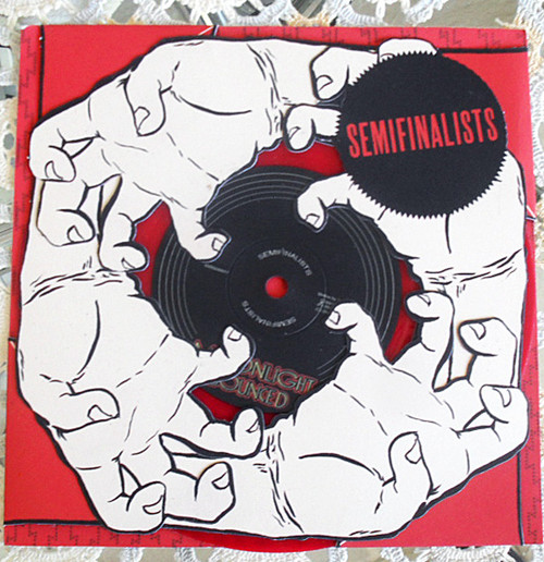 "Art Rock - Semifinalists DC Die-cut Cover Red 7"" Vinyl 2006"