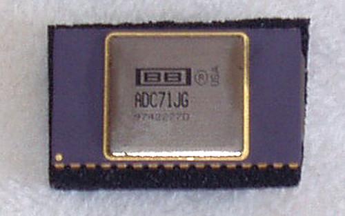 BURR BROWN ADC71JG Ceramic 16 Bit Analog to Digital IC