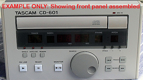 Professional TASCAM CD-601 Spares - Front Panel Controls