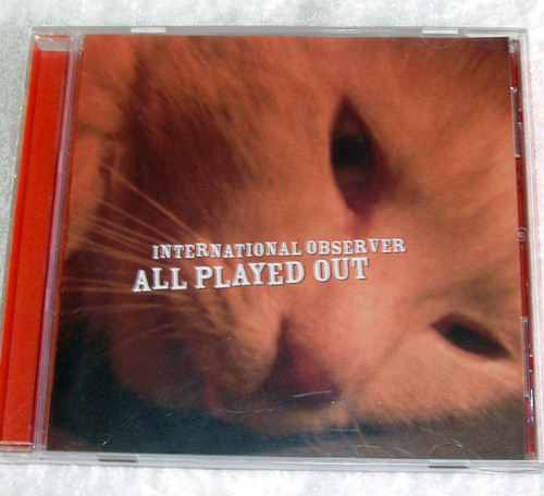 Electronica - International Observer All Played CD 2005