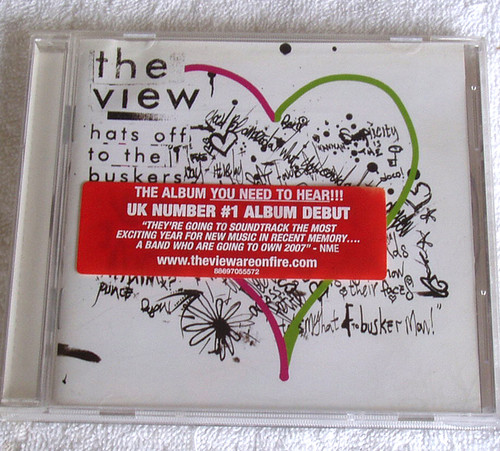 Alternative Rock - The View Hats Off To The Buskers CD 2007