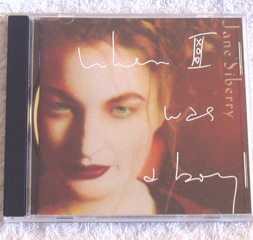 Synth Pop - Jane Siberry When I Was A Boy CD 1993