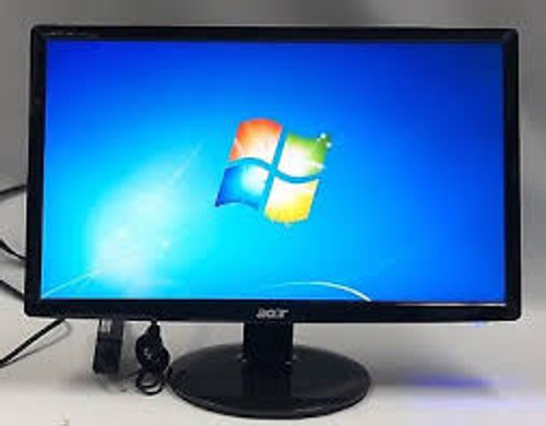 ACER LED/LCD 20 Inch Widescreen PC Monitor Model S201HL BD