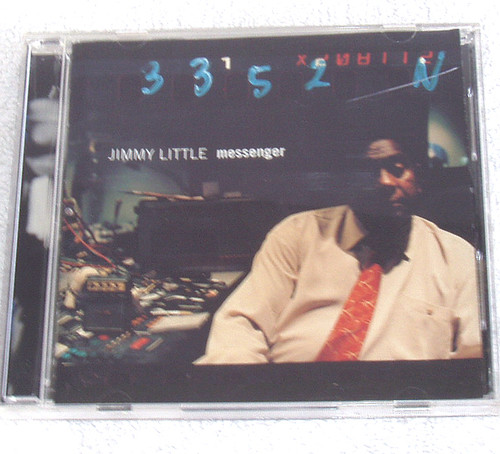 Australian Electric Blues - Jimmy Little Messenger CD 1999