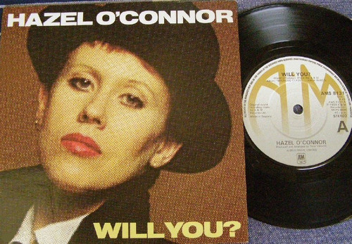New Wave - Hazel O'Connor Will You? Vinyl 1980