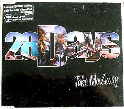 Punk Rock - 28 DAYS Take Me Away CD EP 2002