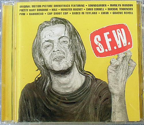 Rock Metal - S.F.W (So Fuckin' What)  Movie Soundtrack CD 1994