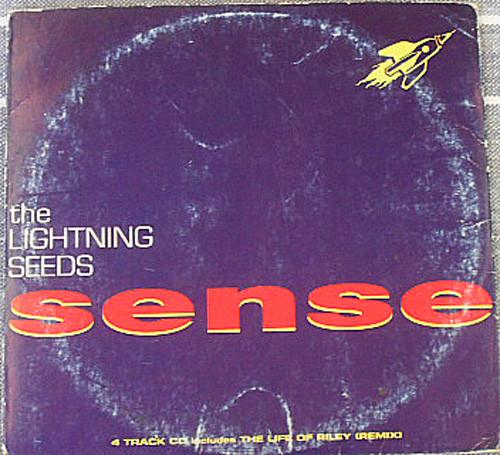 Alternative Rock - THE LIGHTNING SEEDS Sense CD EP (Card Sleeve) 1992