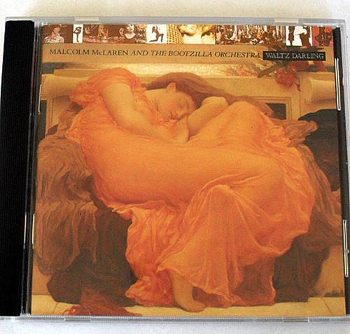 Downtempo Euro House - MALCOLM MCLAREN & THE BOOTZILLA ORCHESTRA Waltz Darling CD 1989