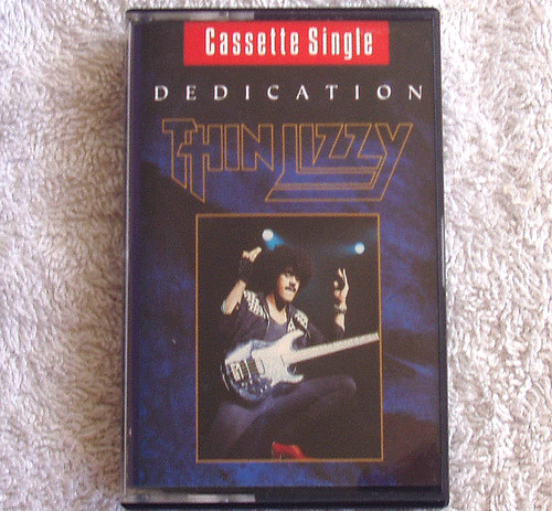 Rock  - Thin Lizzy Dedication Cassette Single 1991