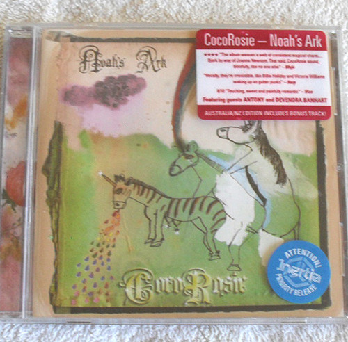 Art Pop Rock - Coco Rosie Noahs Ark CD 2005
