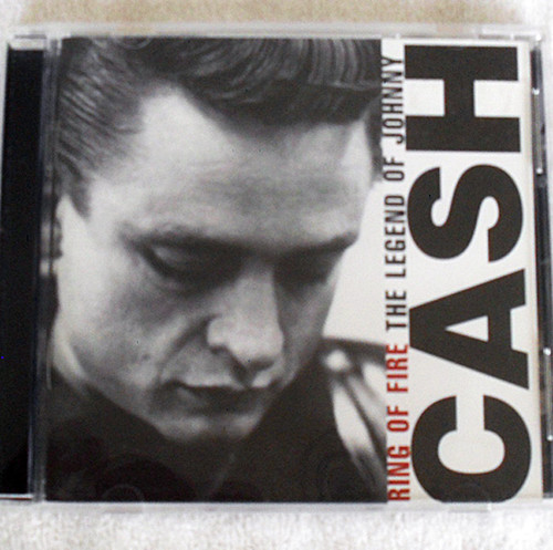 Country Folk - Johnny Cash The Legend Of Johnny Ring Of Fire CD 2005