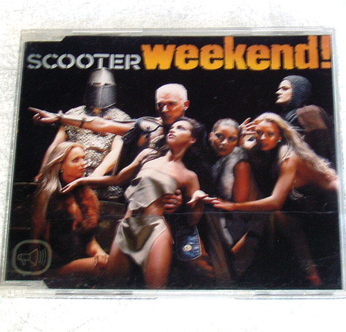 Euro House - Scooter Weekend! CD Maxi 2003