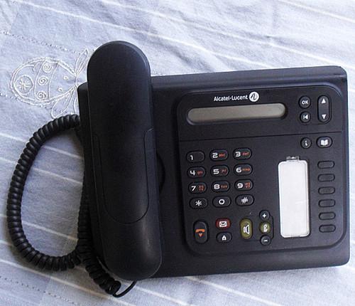 Alcatel Digital Telephone - 4019 Black Handset