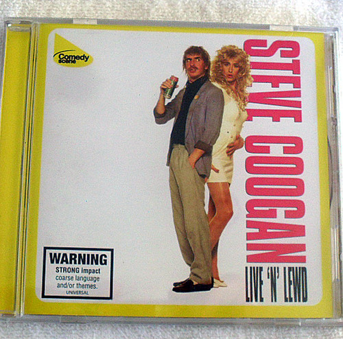 Comedy - Steve Coogan CD Live 'N' Lewd 1994