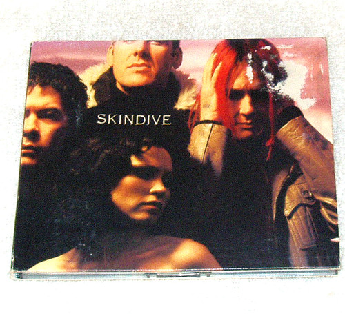 Industrial New Wave - Skindive self titled CD 2001 Japan