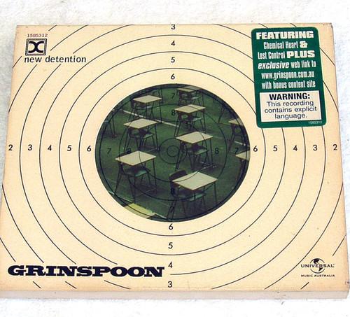 Alternative Rock - Grinspoon New Detention CD 2002