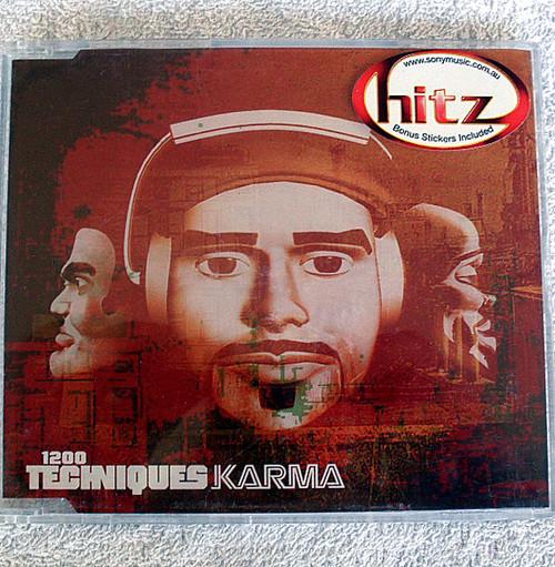 Hip Hop - 1200 Techniques Karma CD Single 2002