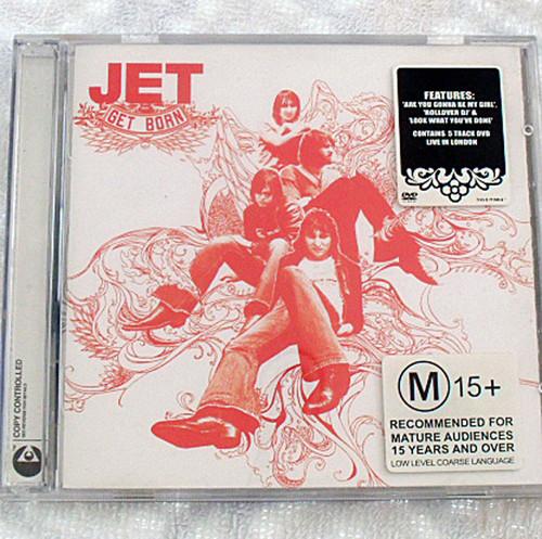 Alternative Rock - Jet Get Born CD Plus DVD 2004