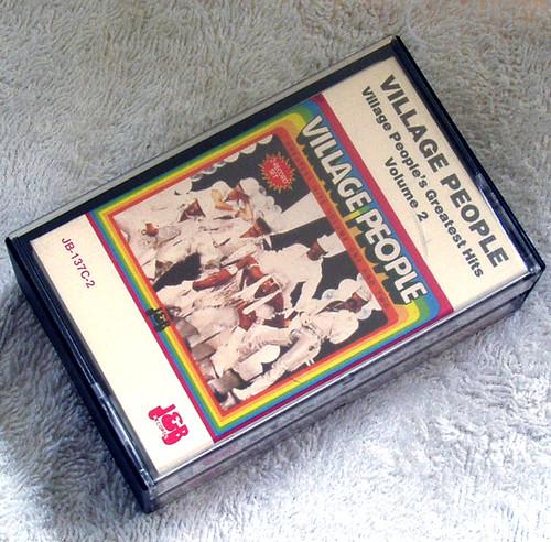 Fun Disco - Village People's Greatest Hits 2x Cassette 1980's