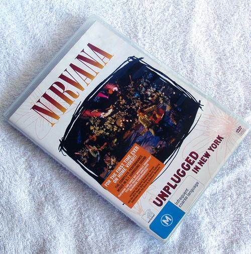 Grunge Rock - Nirvana Unplugged In New York (MTV) DVD 2007