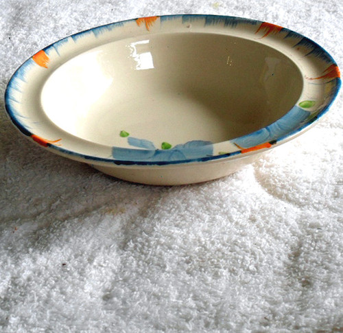 "1930's Swinnertons ""Ivory"" China Bowl Hand Painted"