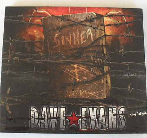 AC/DC Vocalist Pre Bon Scott - Dave Evans Sinner CD 2005