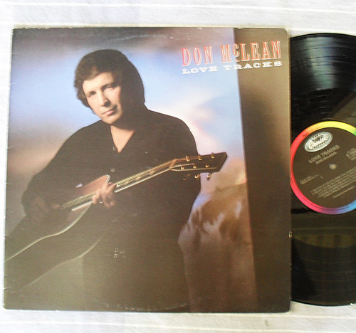 Country - Don McLean Love Tracks Vinyl 1988