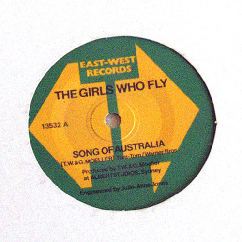 """Australian Airline History - East West Airlines The Girls Who Fly Vinyl 7"""""""