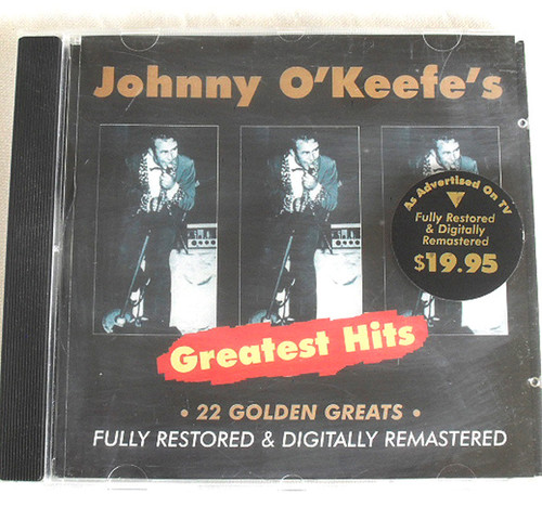 Rock n Roll - Johnny O'Keefe - Greatest Hits CD 1997